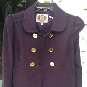 Juicy couture purple jacket medium